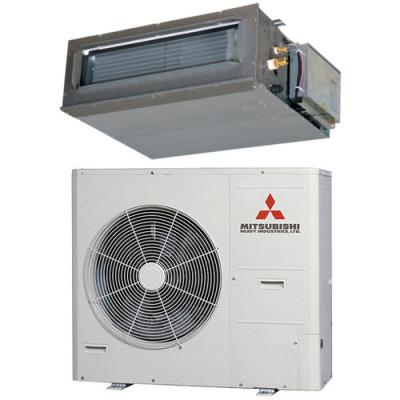 Сплит-система канального типа MITSUBISHI HEAVY FDUM100VH/FDC100VSA-W серии FDUM-VН R-32 INVERTER